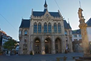 Rathaus Erfurt [Bild: Frank Coburger]